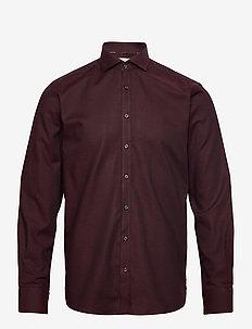Jane - chemises basiques - bordeaux