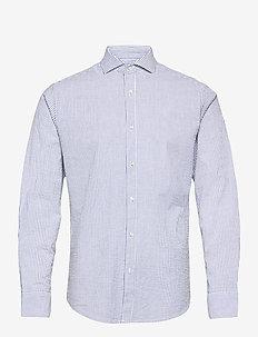 BS Fosu - basic shirts - blue