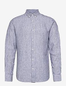 BS Saga - basic skjorter - dark blue