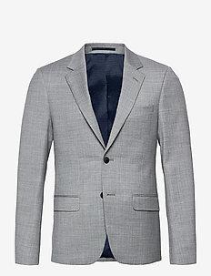 BS Bugey Slim - single breasted blazers - grey
