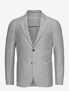 BS Barbaresco Tailored, Blazer - single breasted blazers - grey