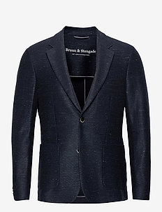 BS Barbaresco Tailored, Blazer - single breasted blazers - navy