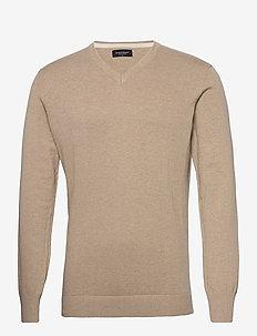 BS Neptune - basic knitwear - brown
