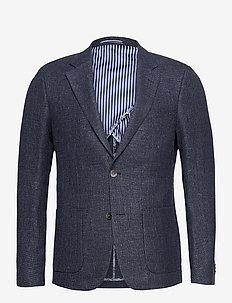 BS Olinpico, Slim - single breasted blazers - blue