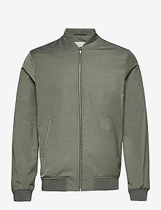 BS Tapia - vestes bomber - green