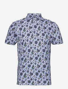 BS Subbu - chemises à manches courtes - light blue