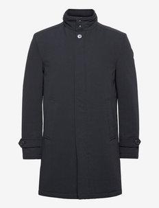 BS Quebech - cienkie płaszcze - navy