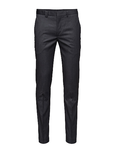 Capri, Suit Pants - CHARCOAL
