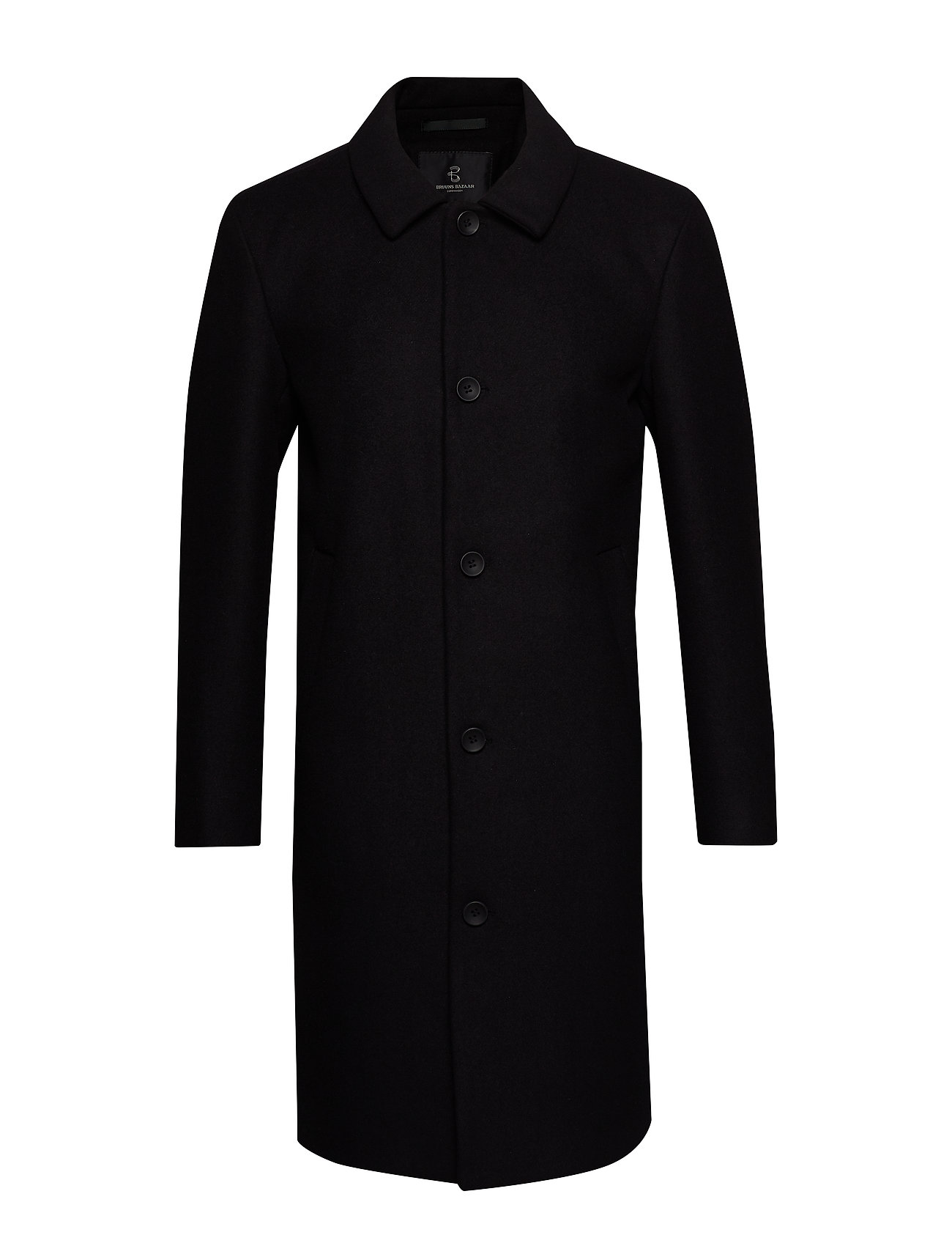 Bruuns Bazaar Aslan Mac Coat - BLACK