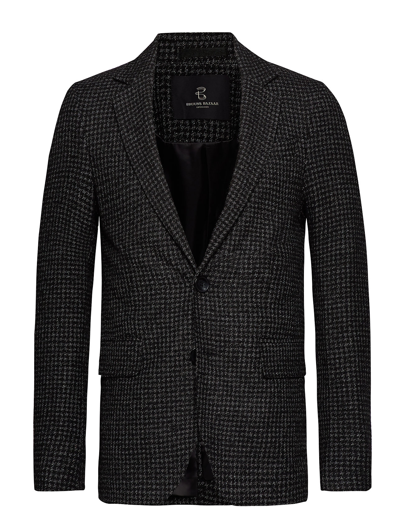 Bruuns Bazaar Andrew Karl blazer - BLACK CHECK