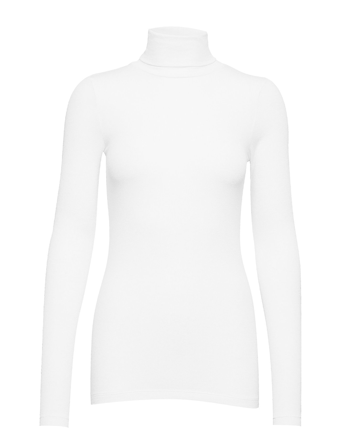 Bruuns Bazaar Angela Roll neck - SNOW WHITE