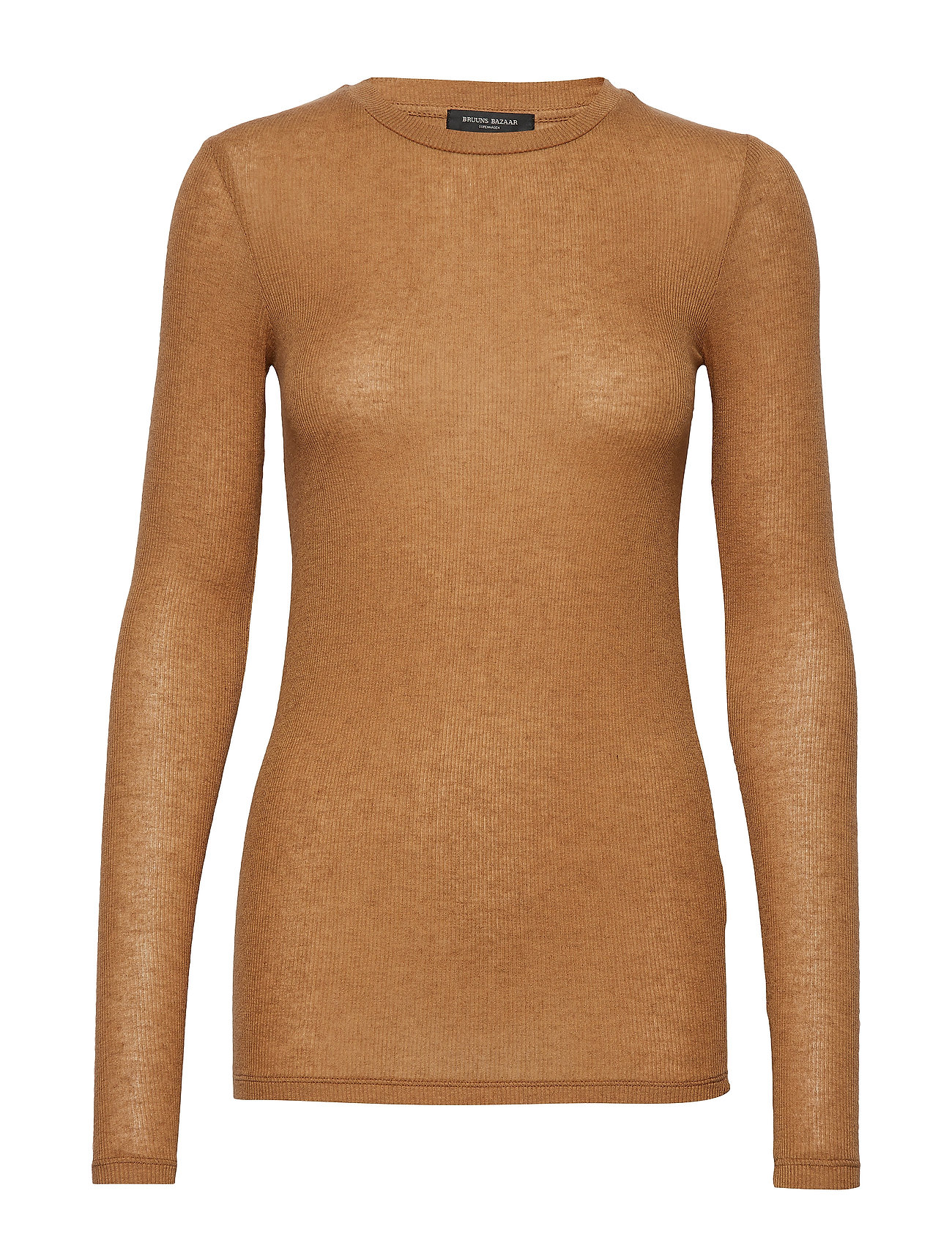 Bruuns Bazaar Angela LS T-shirt - OLD SAND
