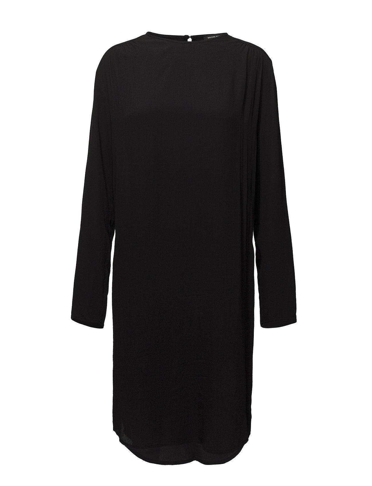 Bruuns Bazaar Liva Vibeke dress - BLACK