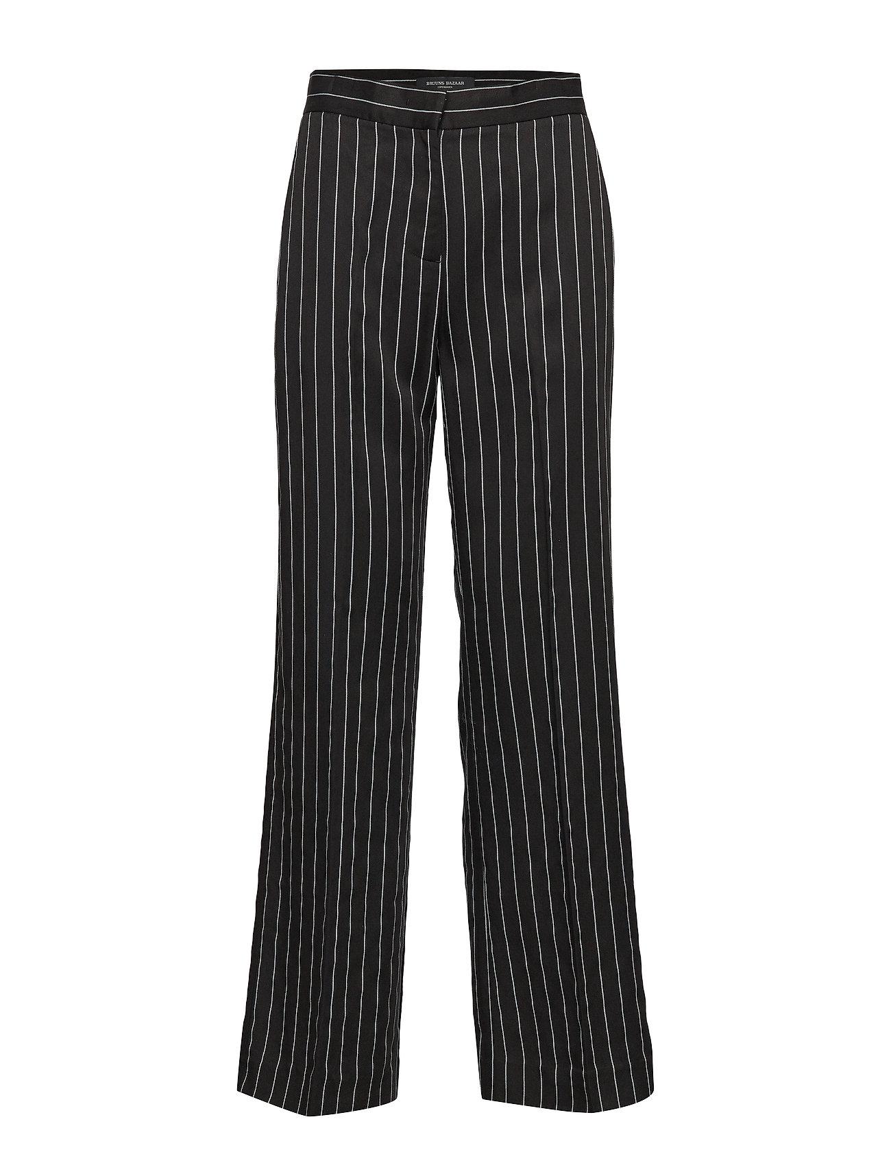 Bruuns Bazaar Brisa Catrine Pant - BLACK/WHITE