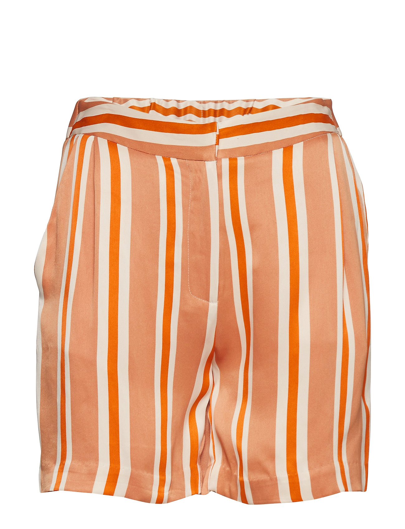 Bruuns Bazaar Lignes Baja Shorts - BURNT COPPER - LIGNES ARTWORK