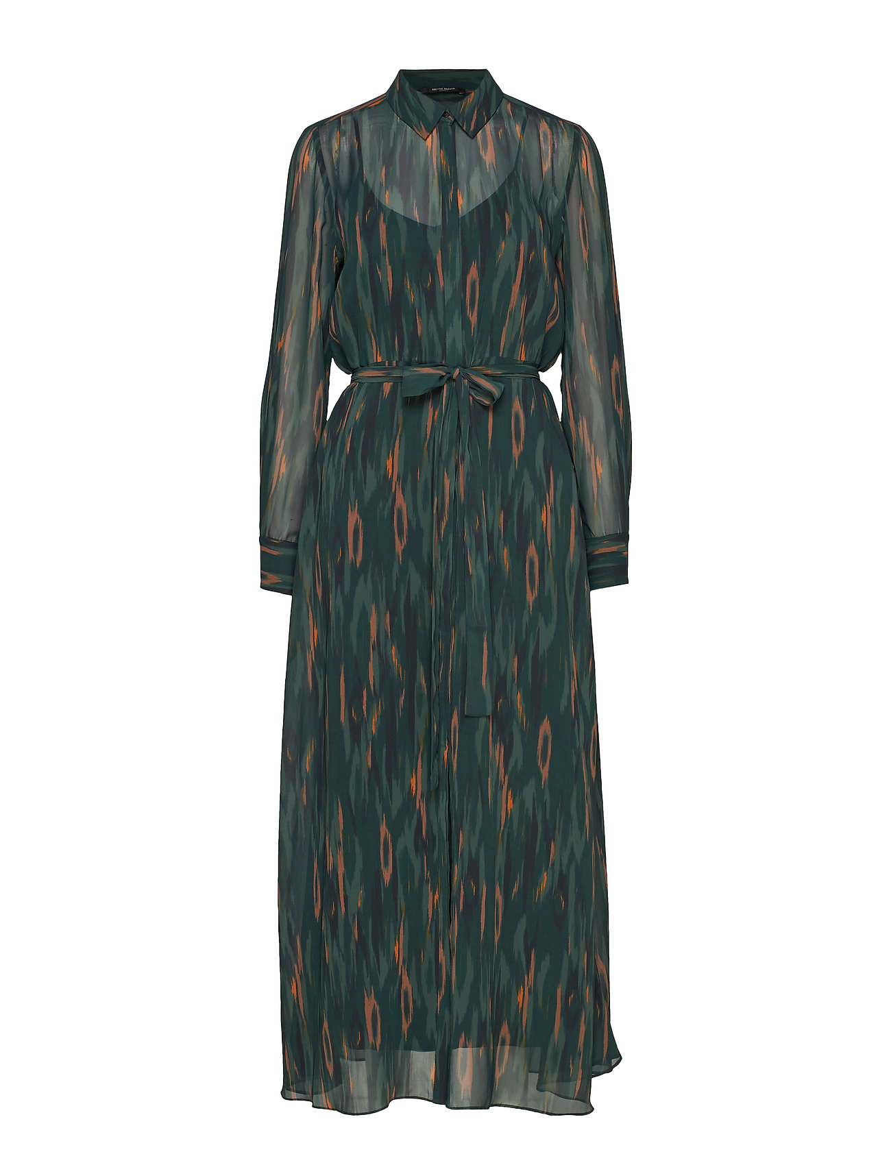 Bruuns Bazaar Camou Cora Dress - DEEP FOREST - CAMOU ARTWORK