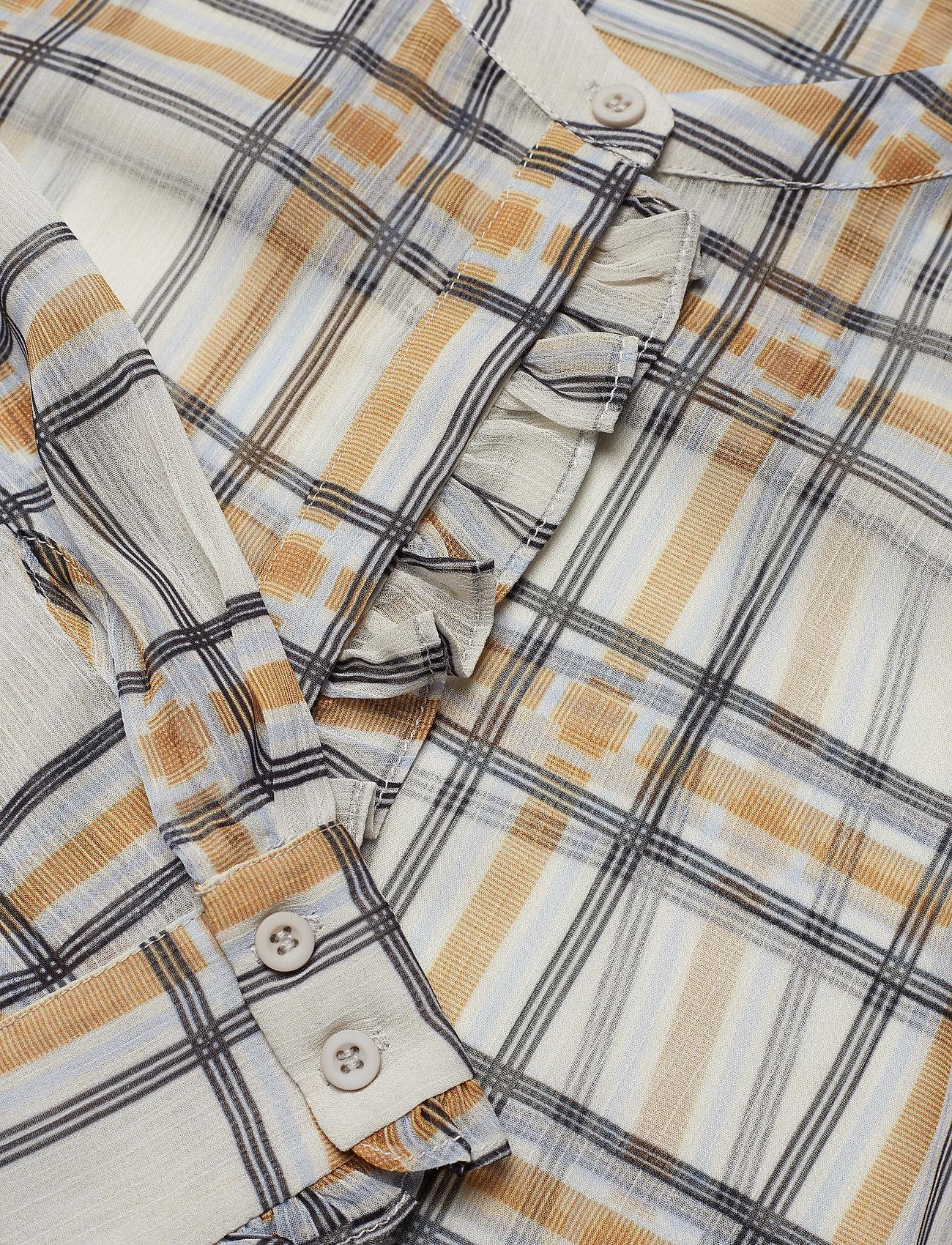Check Jasmina Shirt (Snow White Check) (99.95 €) - Bruuns Bazaar WAzbk