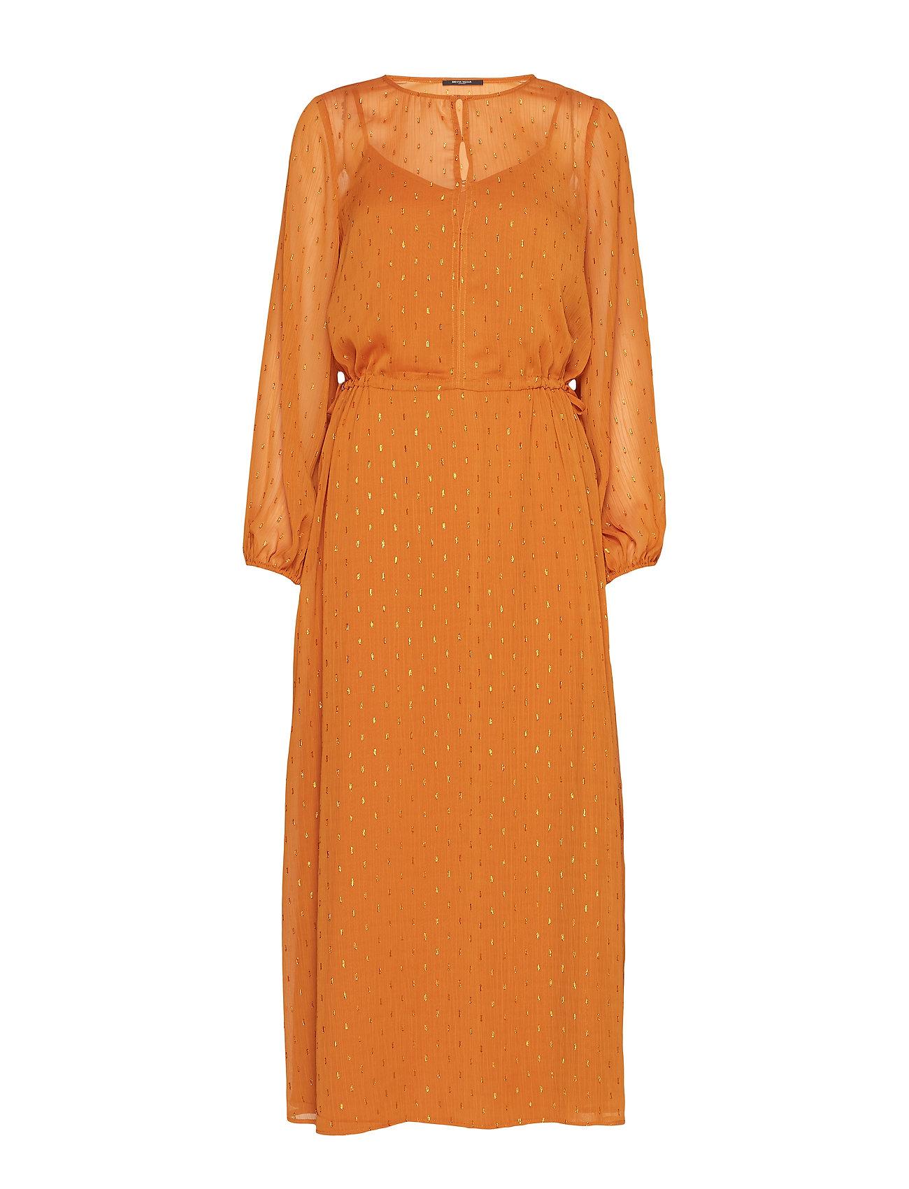 Bruuns Bazaar Mariah Gloria Dress - SUNDAN BROWN
