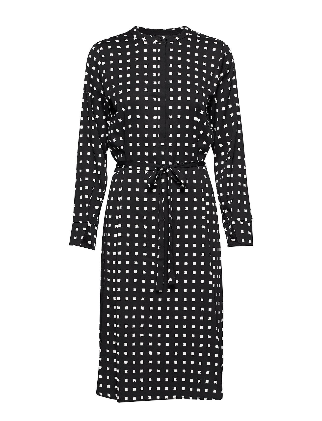 Bruuns Bazaar Bonne Carin Dress - BLACK - BONNE ARTWORK