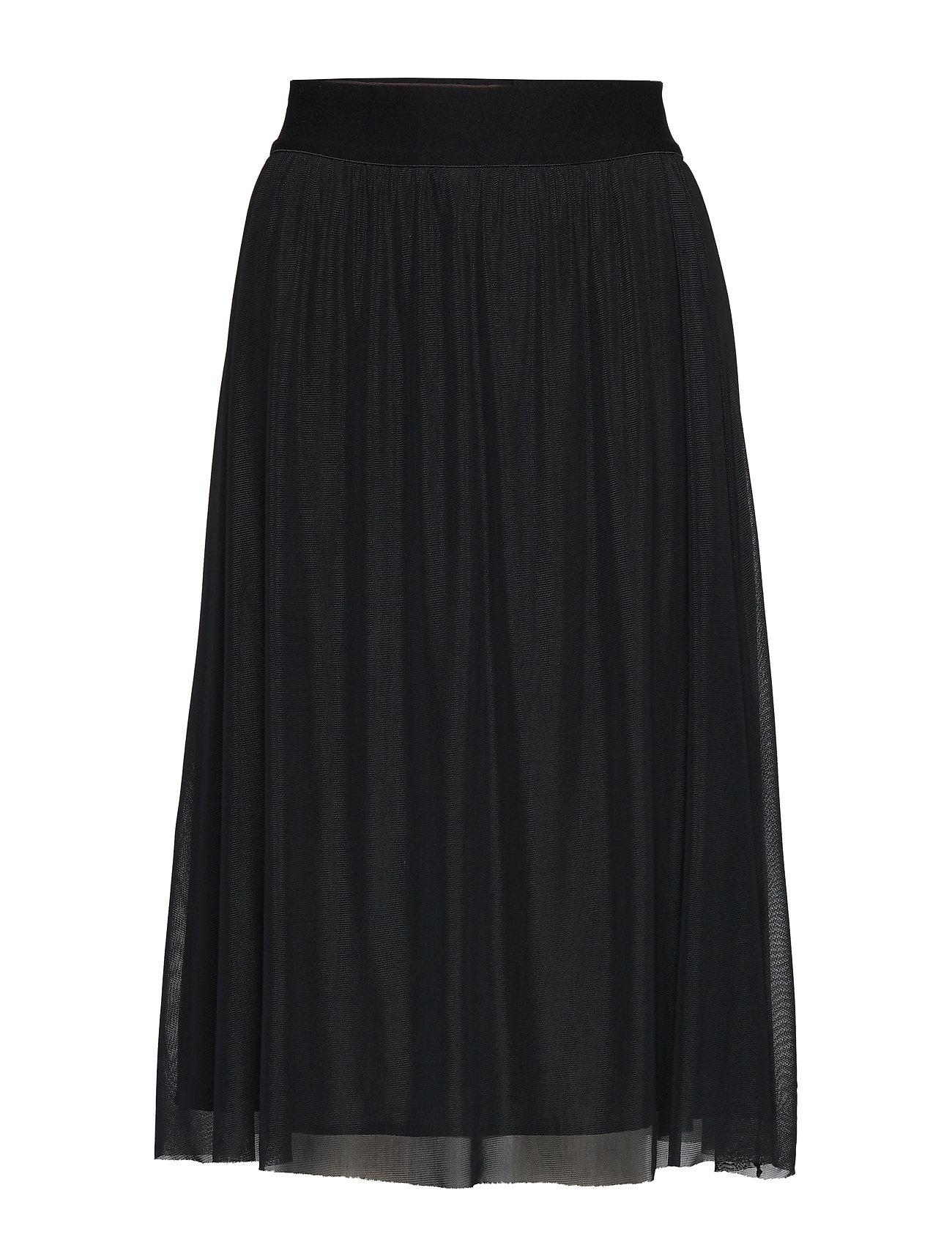 Bruuns Bazaar Thora Violet Skirt - BLACK