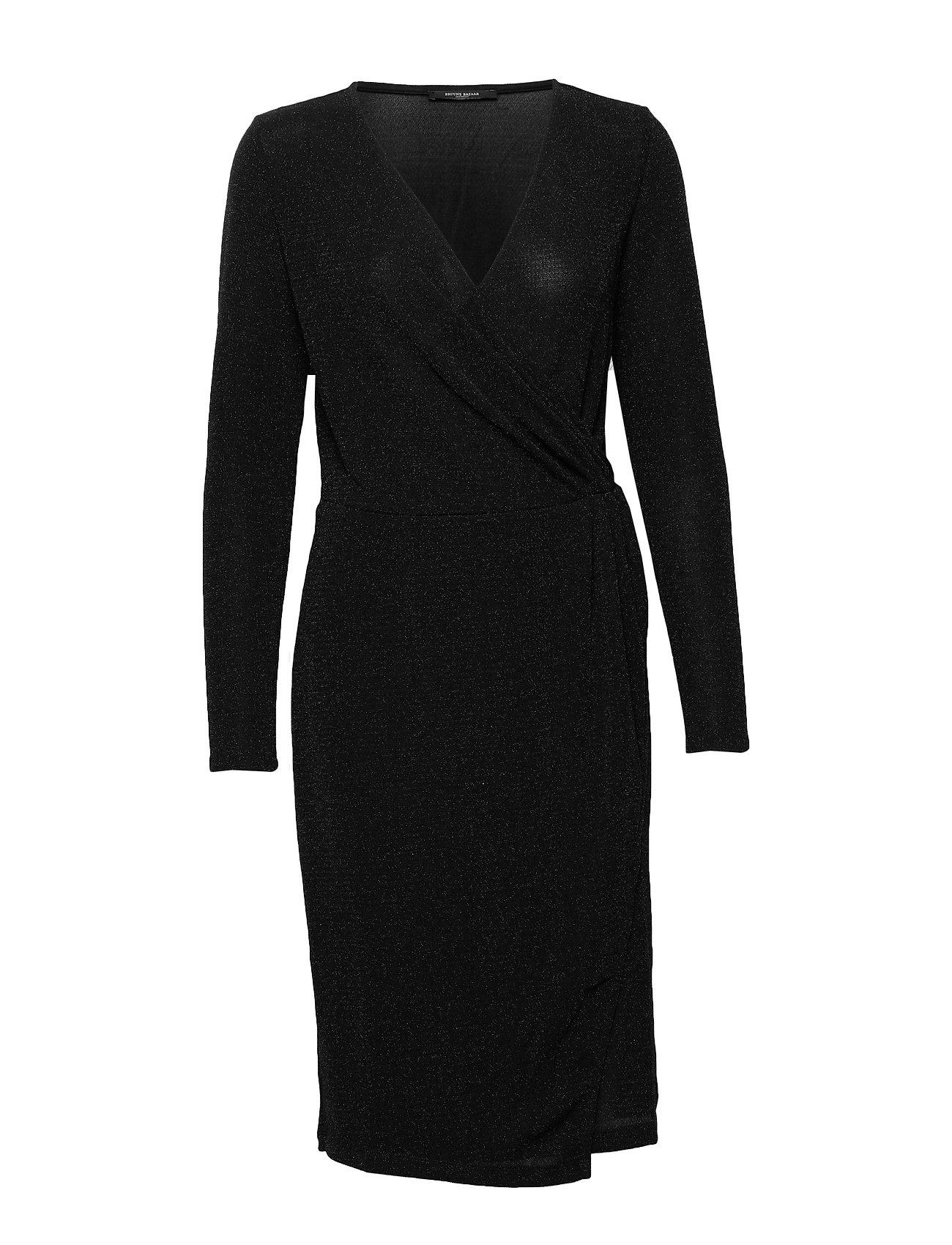 Bruuns Bazaar Riba Lina Dress - BLACK/SILVER