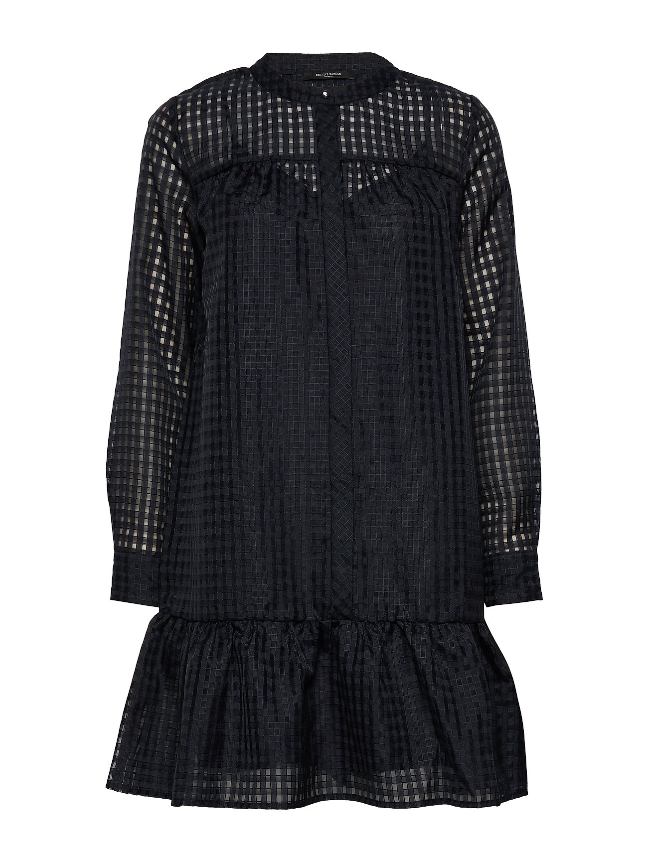 Bruuns Bazaar Santonia chicka shirt dress - NIGHT SKY