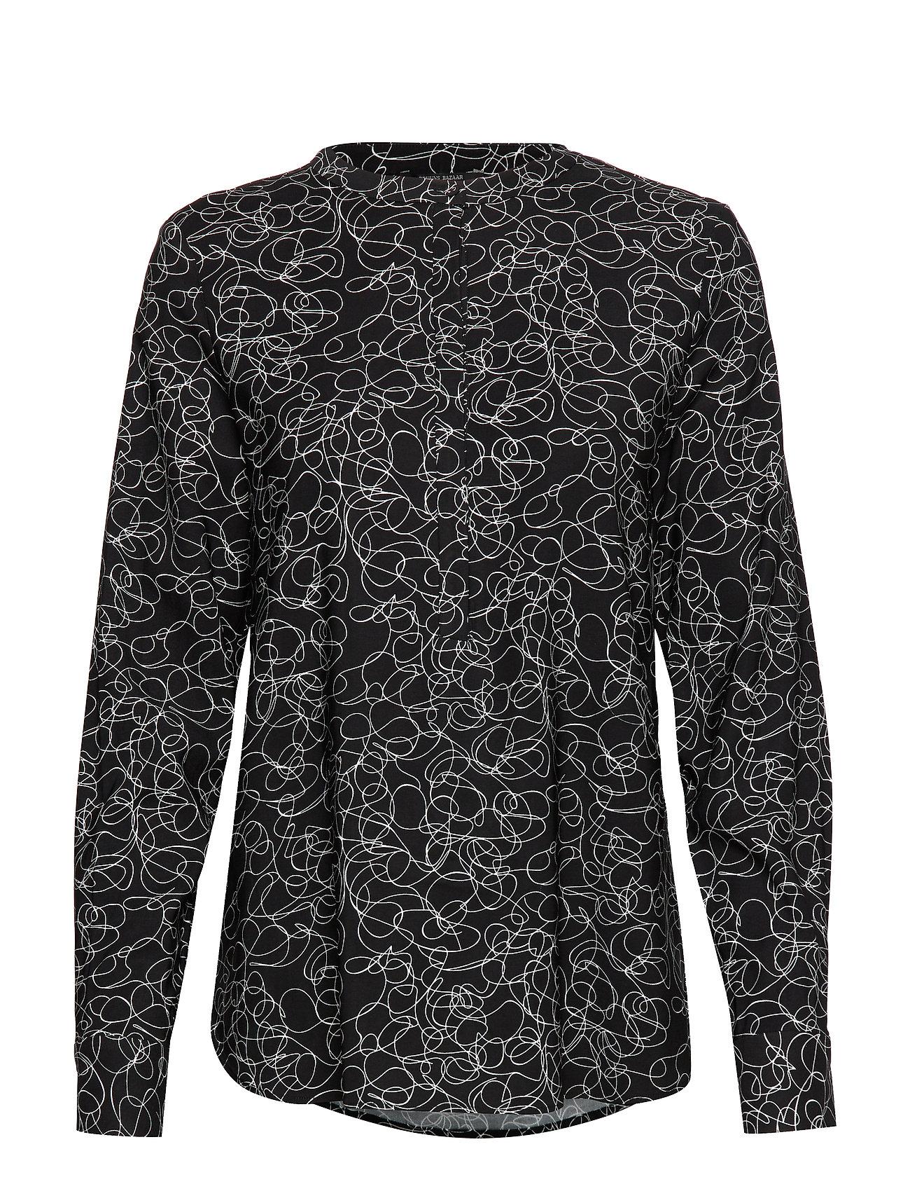 Bruuns Bazaar Sketch Inglis shirt - SKETCH ARTWORK