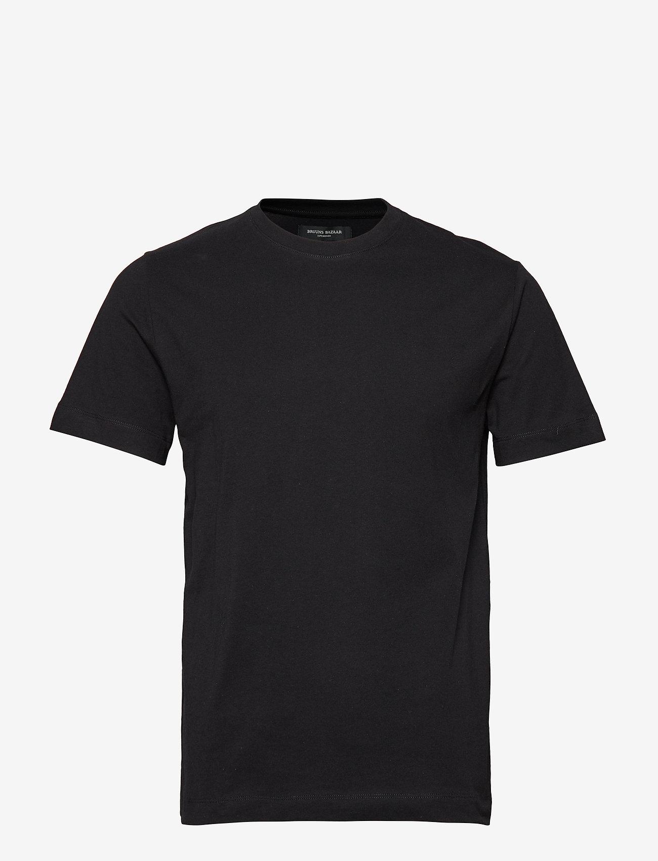 Bruuns Bazaar - Gustav T-shirt - t-shirts basiques - black - 0