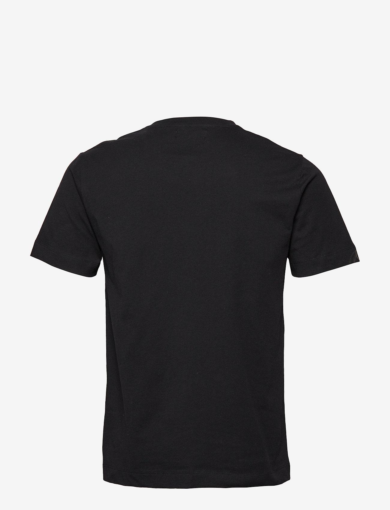 Bruuns Bazaar - Gustav T-shirt - t-shirts basiques - black - 1