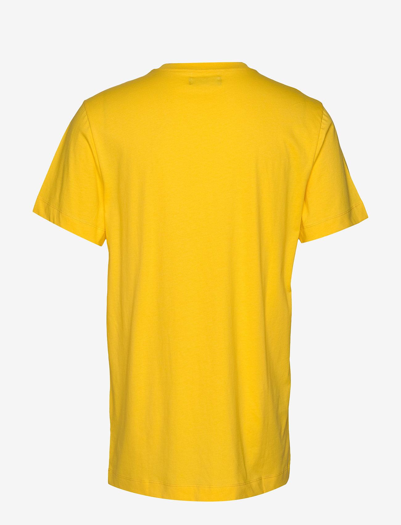Bruuns Bazaar Gustav Utility T-shirt - T-shirts Bright Yellow