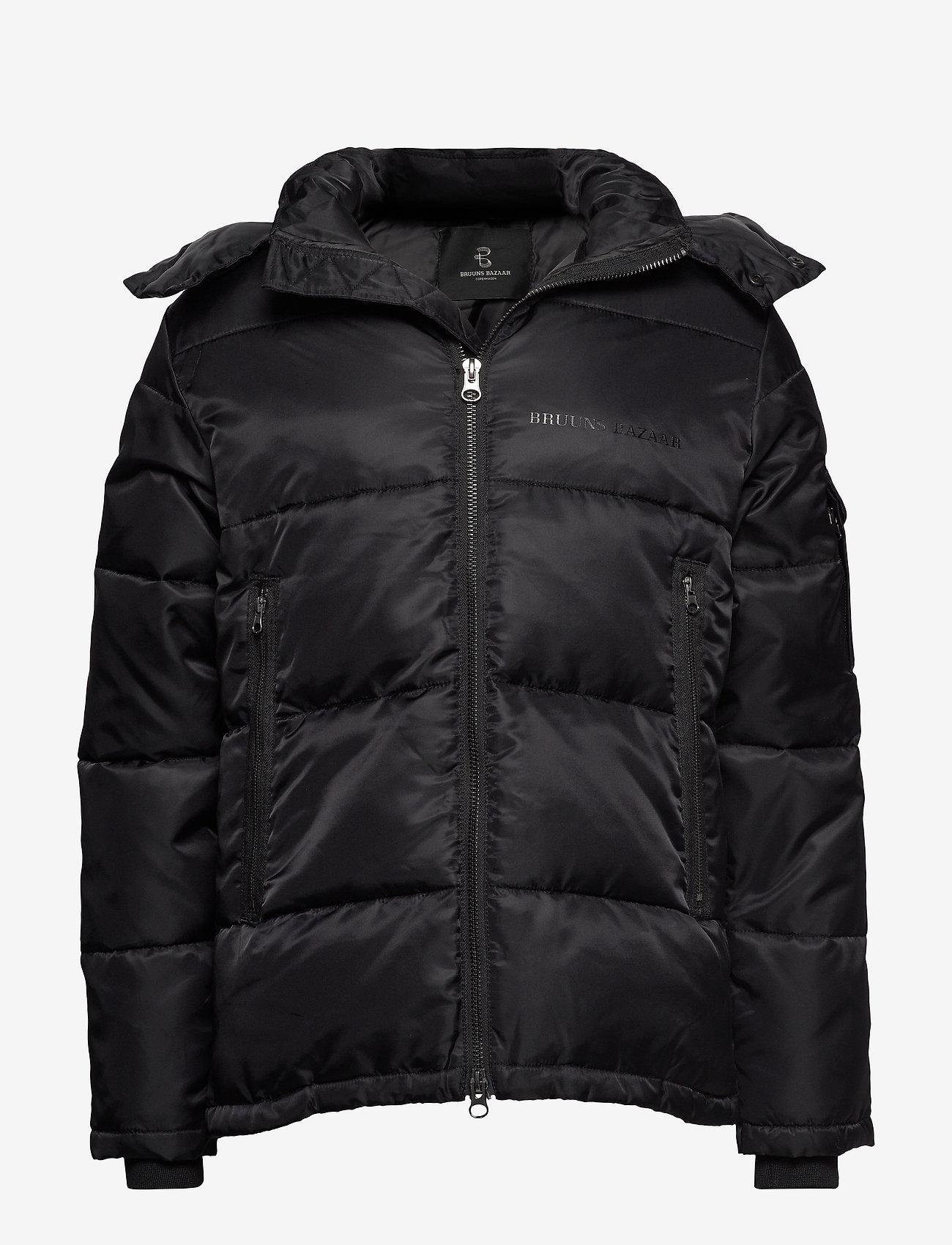 Bruuns Bazaar - Arn Helium Parka - vestes matelassées - black - 0