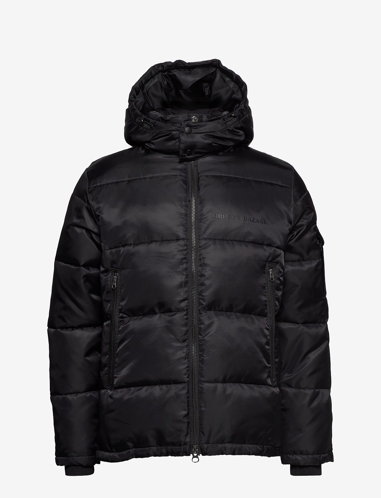 Bruuns Bazaar - Arn Helium Parka - vestes matelassées - black - 1