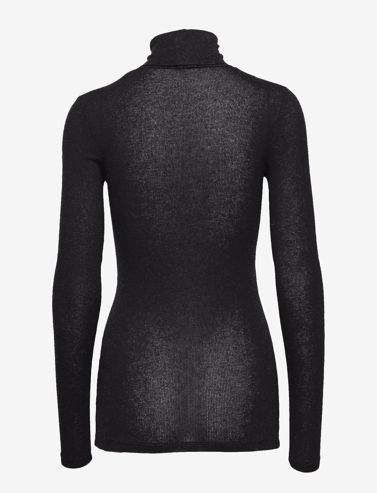 Bruuns Bazaar - Angela Roll neck - golfy - black - 1