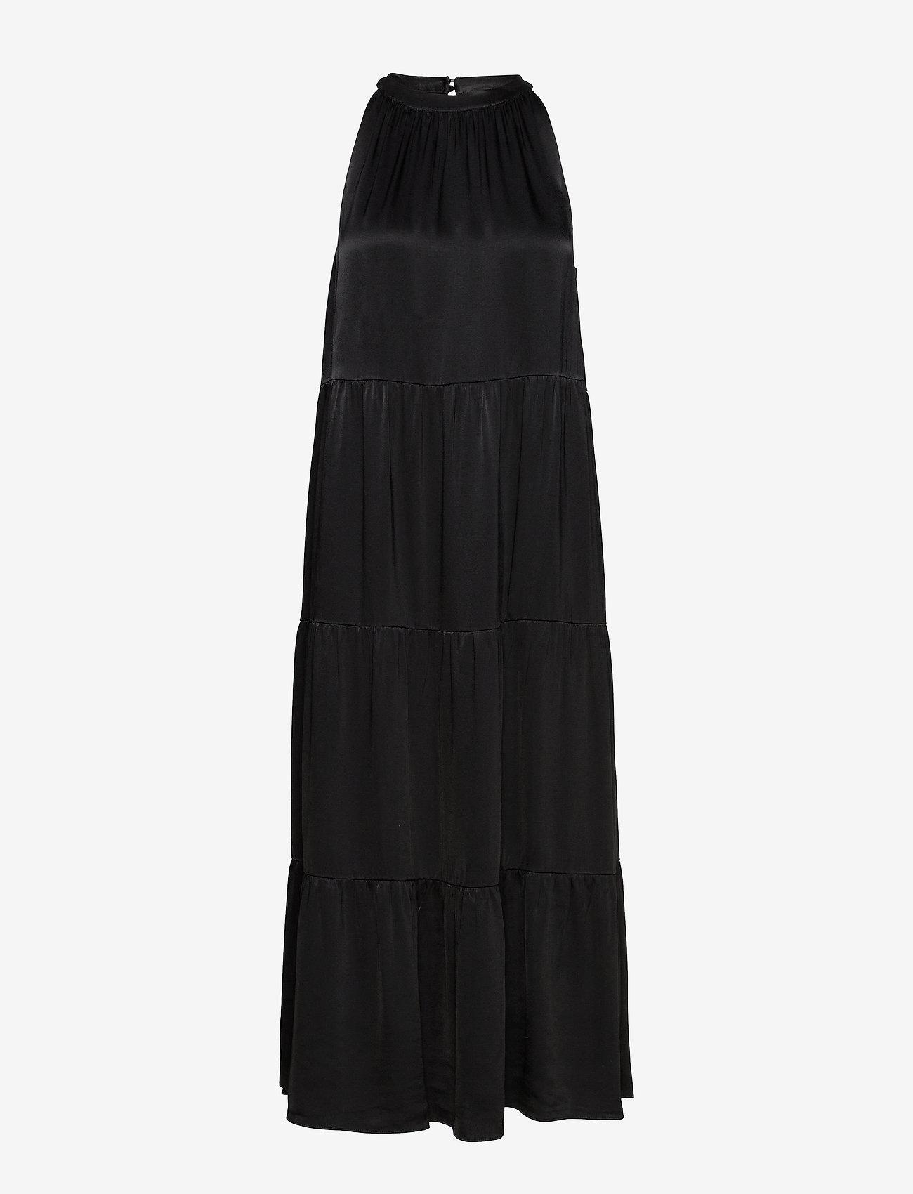 Bruuns Bazaar - Sofie Maja Dress - maxi kjoler - black - 0