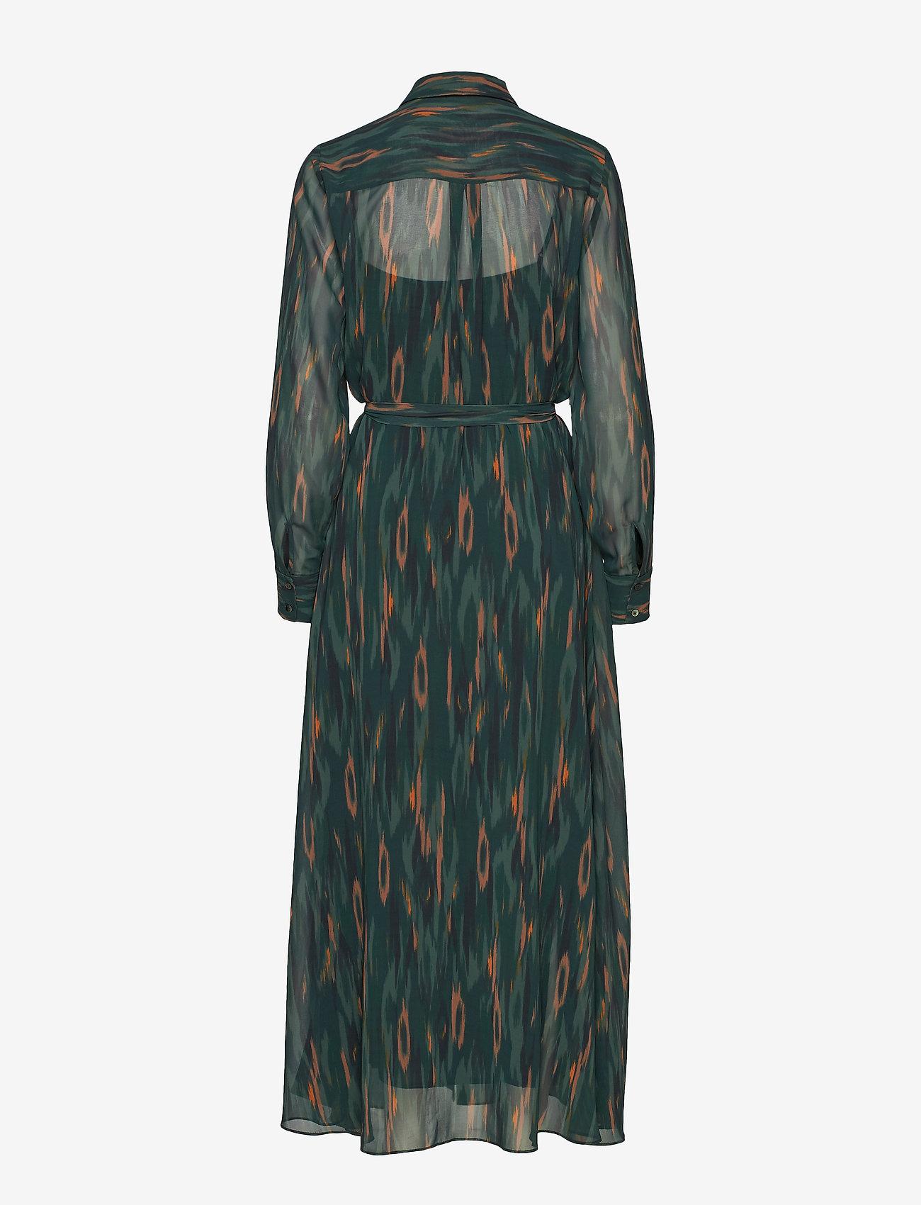 Bruuns Bazaar Camou Cora Dress - Sukienki DEEP FOREST - CAMOU ARTWORK - Kobiety Odzież.