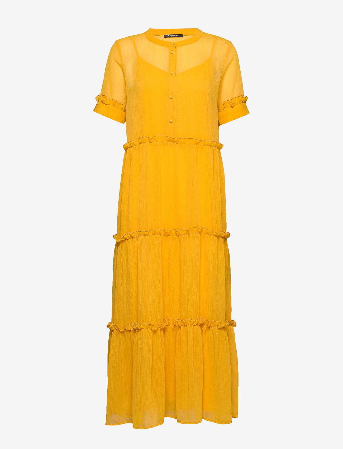 Bruuns Bazaar - Marie Silje dress - summer dresses - orange glow - 1
