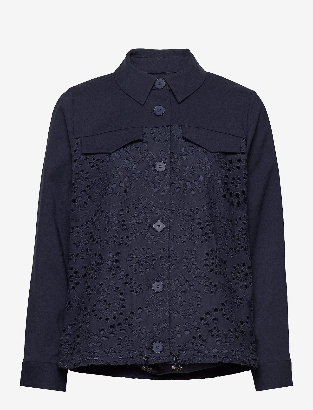 Bruuns Bazaar - Abelina Camil jacket - lichte jassen - night sky - 1