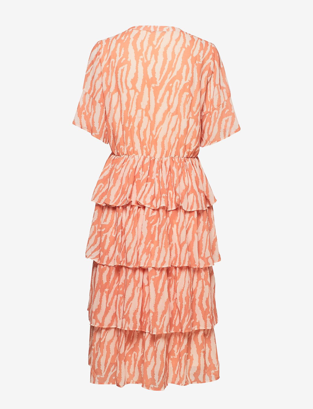 Bruuns Bazaar - Gloss Marin dress BZ - midi jurken - gloss artwork - 1