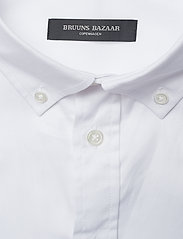 Bruuns Bazaar - Anthonys NY Stretch Oxford Shirt - chemises basiques - white - 2