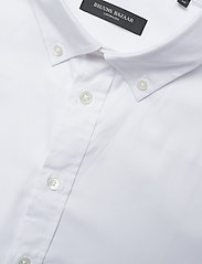 Bruuns Bazaar - Anthonys NY Stretch Oxford Shirt - chemises basiques - white - 3