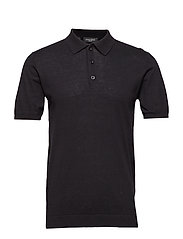 Gerhard Polo s/s - BLACK