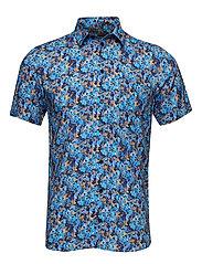 Arthur Shirt - BLUE FLORAL