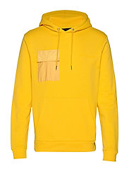 Bertel Utility Sweat - BRIGHT YELLOW