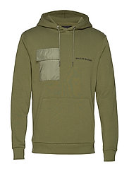 Bertel Utility Sweat - SAGE GREEN
