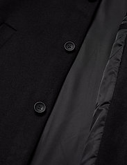 Bruuns Bazaar - Aslan Mac Coat - wollen mantels - black - 4