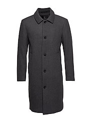 Aslan Mac Coat - GREY MEL