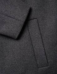 Bruuns Bazaar - Aslan Mac Coat - manteaux de laine - grey mel - 3