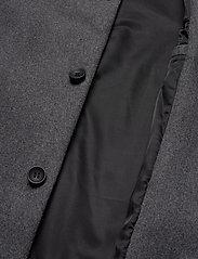 Bruuns Bazaar - Aslan Mac Coat - manteaux de laine - grey mel - 4