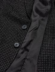 Bruuns Bazaar - Andrew Karl blazer - blazers à boutonnage simple - black check - 4