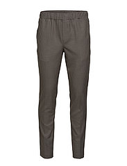 Asfred Clark Pant - SOIL BROWN CHECK
